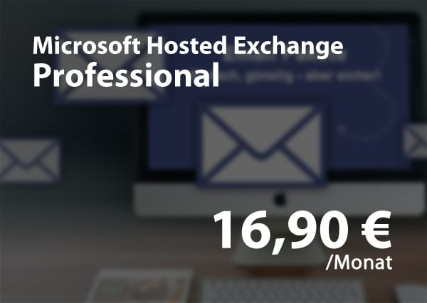 Microsoft Hosted Exchange - Professional