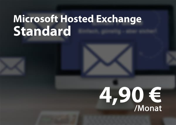 Microsoft Hosted Exchange Standard